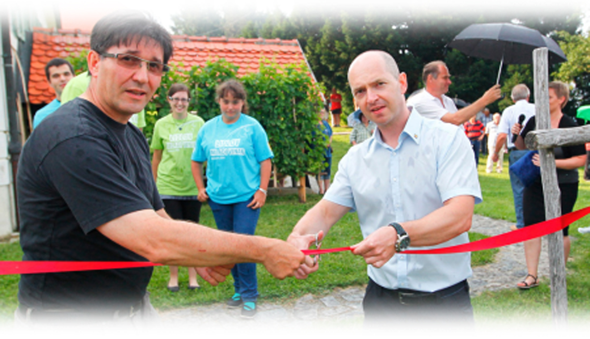 Mag. Janez Valdhuber in Gregor Bregač (Lidl Slovenija)