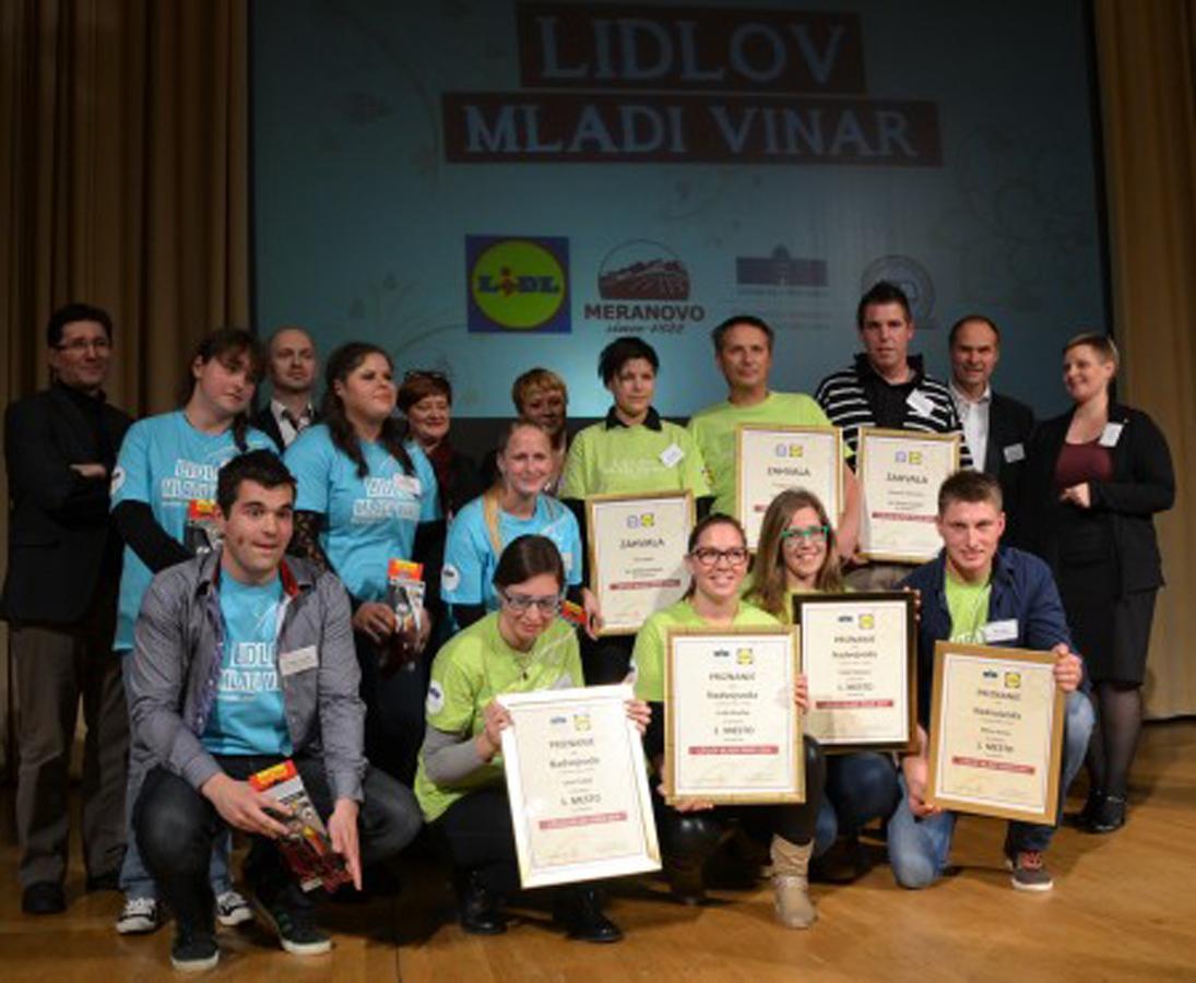 Še gasilska za konec natečaja Lidlov mladi vinar 2014. Iskrene čestitke in zahvala vsem sodelujočim! Se vidimo spet naslednje leto :)