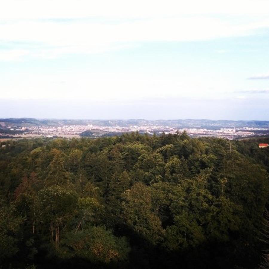Čudovit pogled iz Meranovega na Maribor