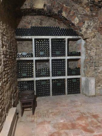 Arhivska zbirka vin v Zidanici Malek.