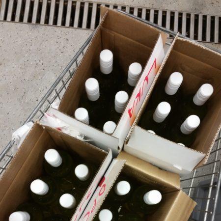 V prvi seriji smo napolnili 27 steklenic