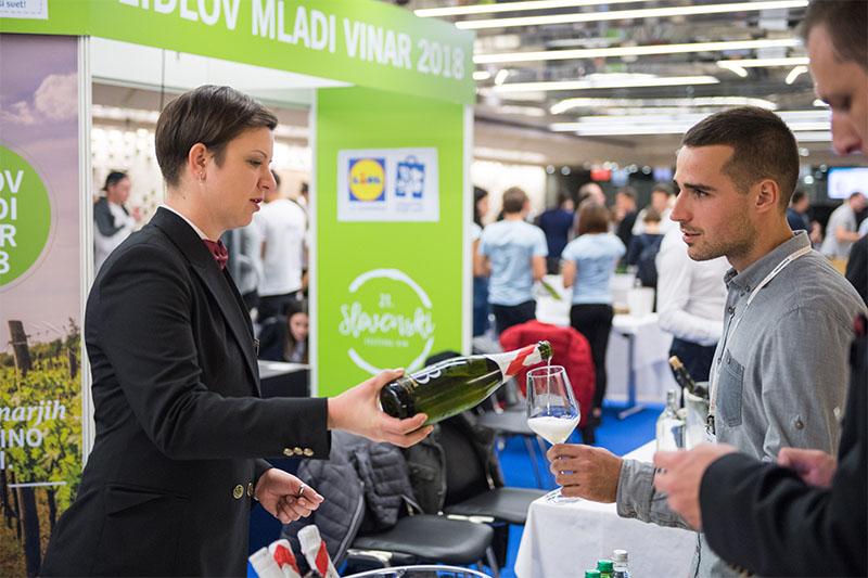 Salon Lidlov mladi vinar